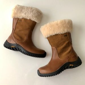 UGG Australia Bandon Tan Boot Leather Sheepskin 7